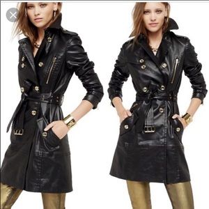 Juice couture trench coat XS
